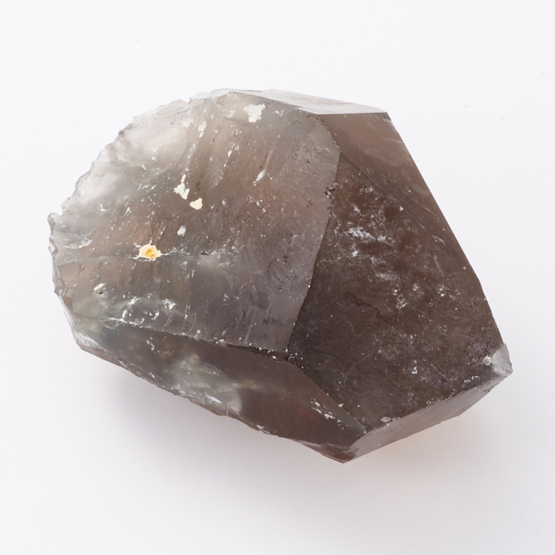 Кристалл раухтопаз с тремолит-асбестом  S
