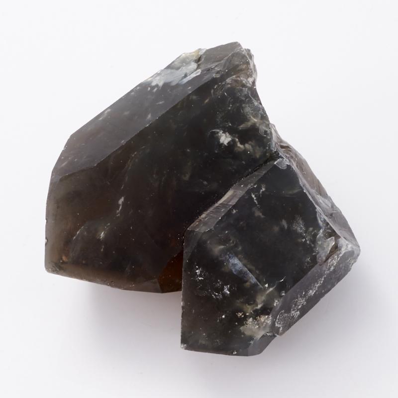 цена на Кристалл раухтопаз с тремолит-асбестом (сросток) S