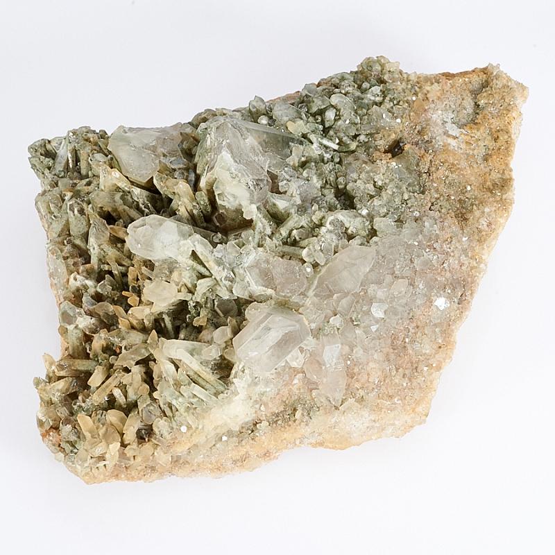 Друза кварц с хлоритом  M
