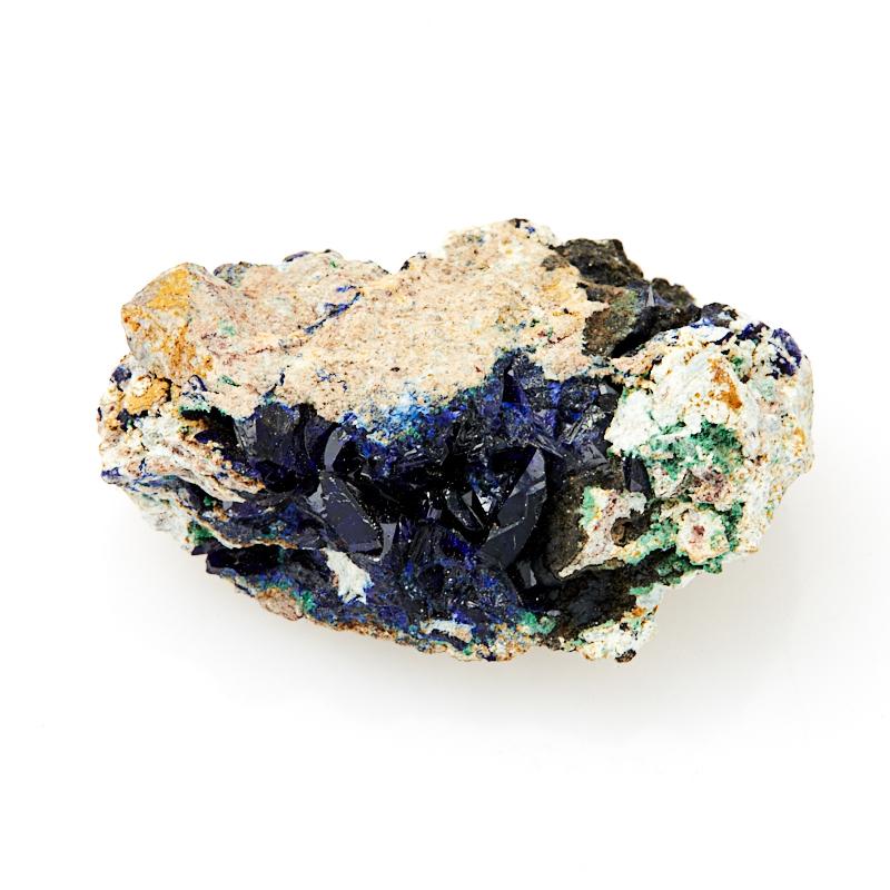 Кристалл в породе азурит с малахитом  XXS