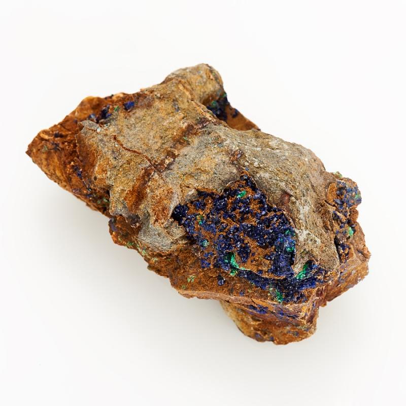 Образец азурит с малахитом S bkt lg 306 20 10 8 6pr tl