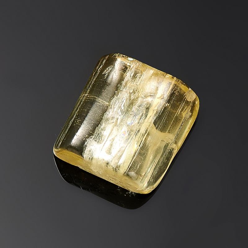 Кристалл галтованный берилл гелиодор  XXS