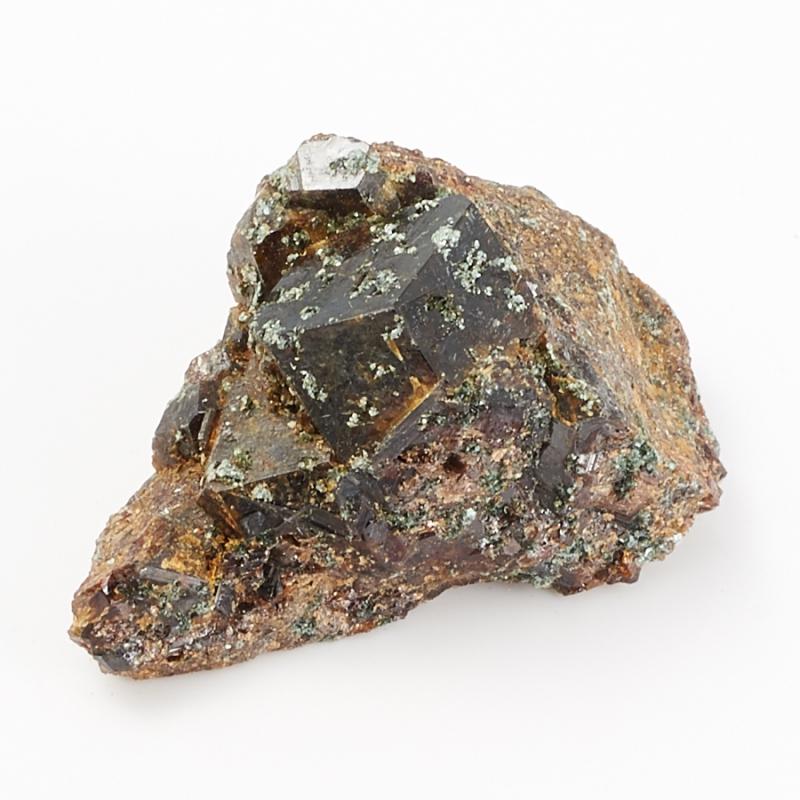 Кристалл в породе гранат метасоматический XXS кристалл в породе турмалин черный xxs