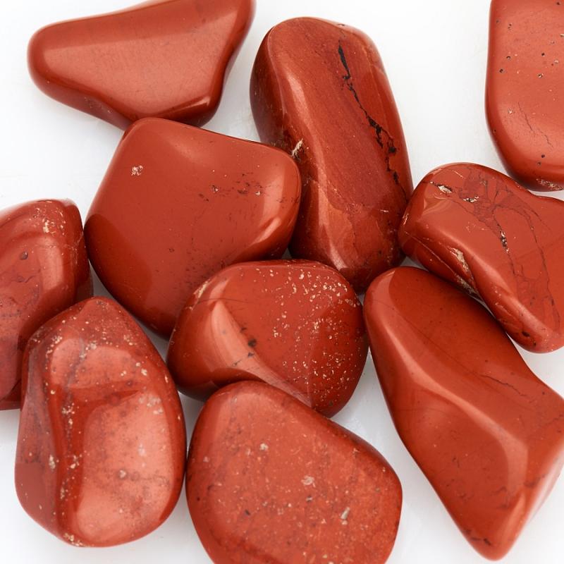 Галтовка яшма красная ЮАР (1,5-2 см) (1 шт)
