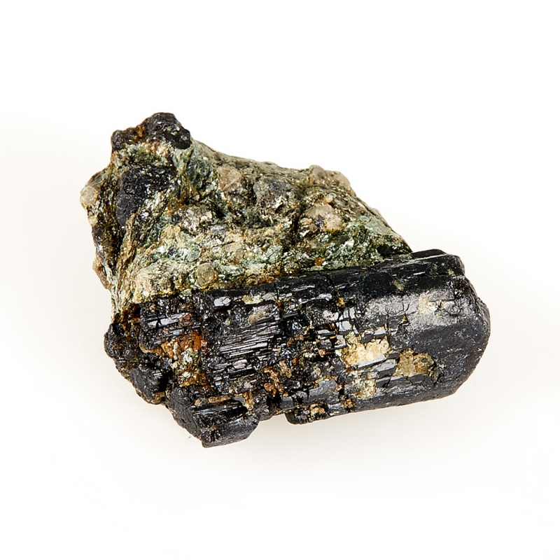 Кристалл в породе турмалин черный  XXS кристалл турмалин 26х20х17 мм xxs