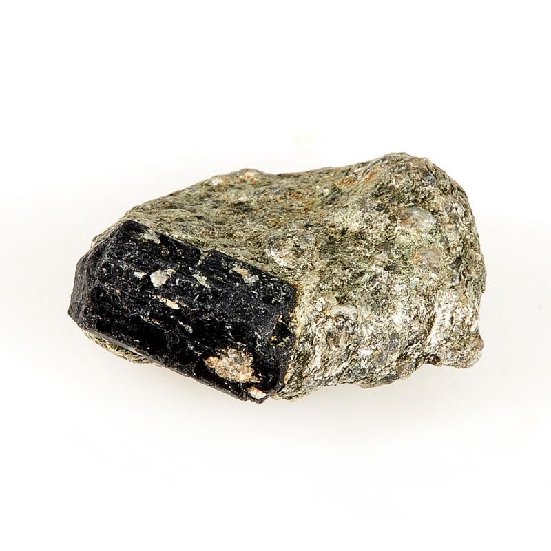 Кристалл в породе турмалин черный XXS кристалл в породе турмалин черный xxs
