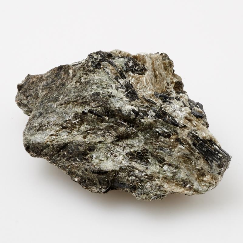 Кристалл в породе турмалин черный  S кристалл турмалин черный шерл xxs