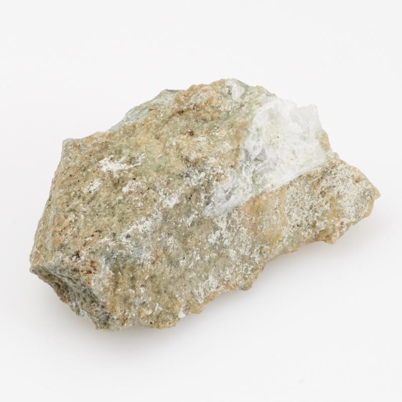Кристалл в породе диопсид, везувиан  XS
