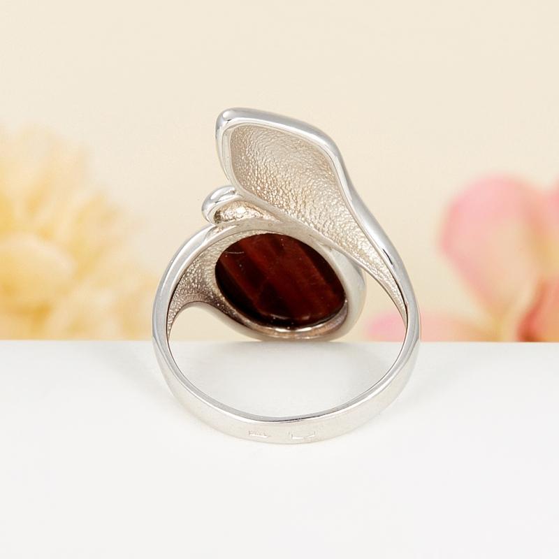 Кольцо бычий глаз  (серебро 925 пр.) размер 19
