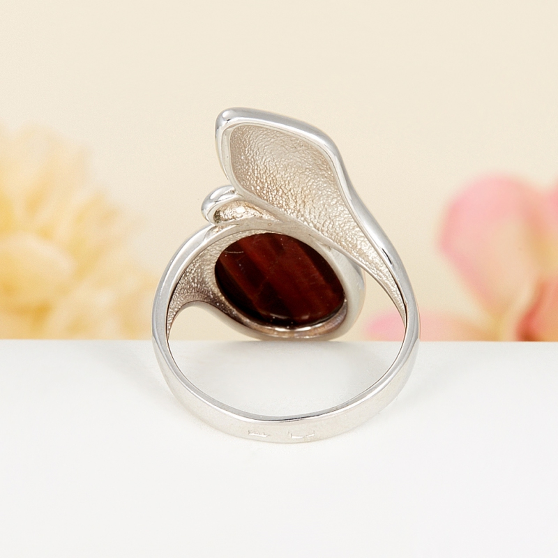 Кольцо бычий глаз ЮАР (серебро 925 пр.) размер 24