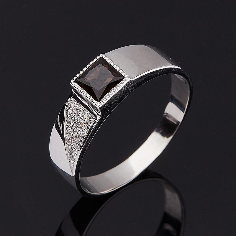 Кольцо раухтопаз огранка (серебро 925 пр.) размер 18 кольцо раухтопаз огранка серебро 925 пр размер 18 5