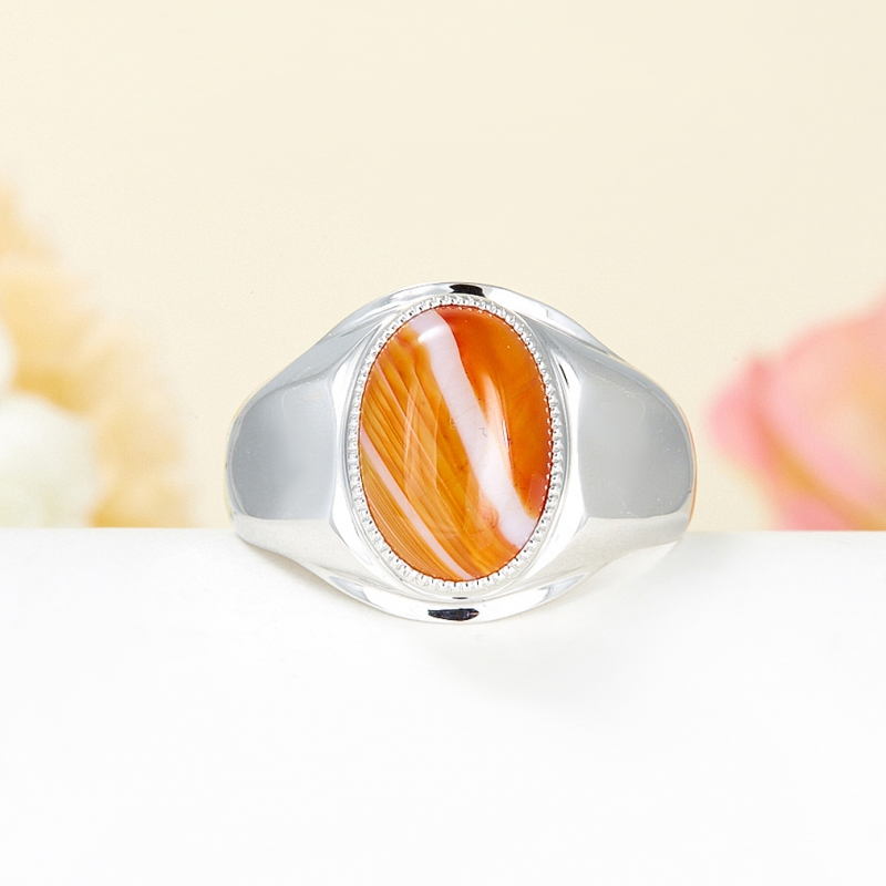 Кольцо сердолик  (серебро 925 пр.) размер 21,5 кольцо авантюрин серебро 925 пр размер 21 5