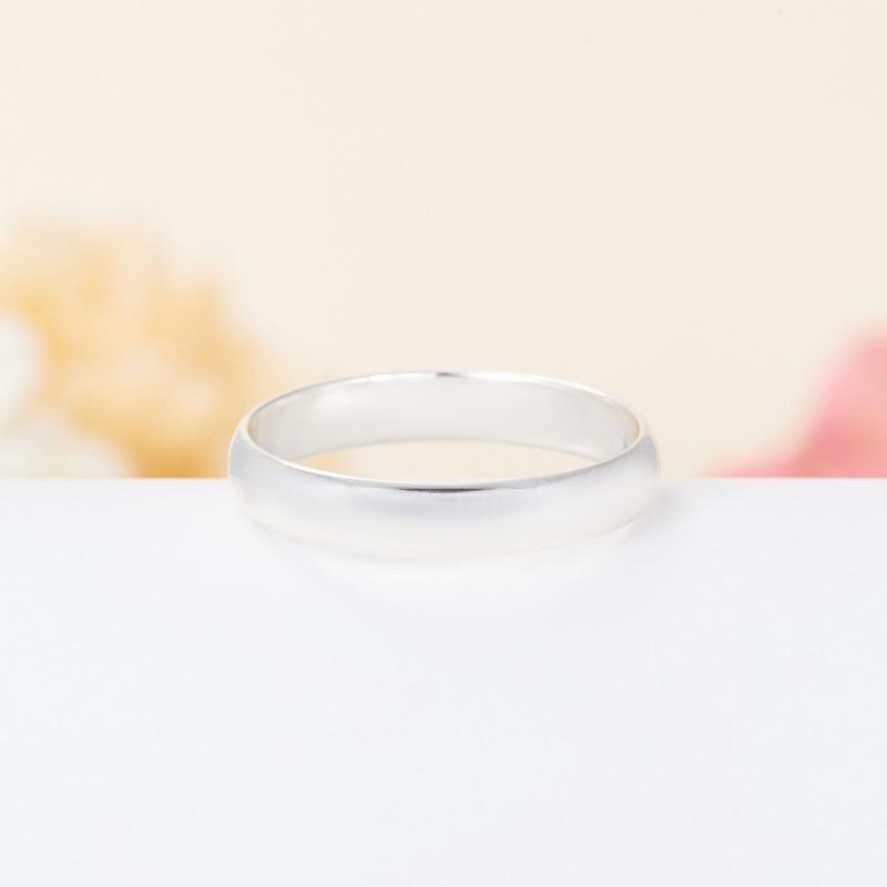 Кольцо бриллиант Россия огранка (обручальное) (серебро 925 пр.) размер 23
