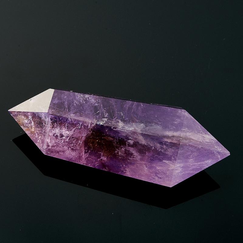 Двухголовый кристалл аметиста (6-7 см) Бразилия (ограненный)