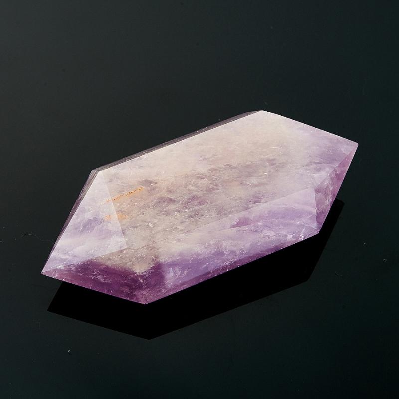 Двухголовый кристалл аметиста (7 см) Бразилия (ограненный)