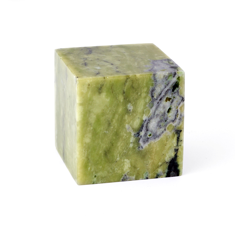Куб офиокальцит Россия 4,5-5 см