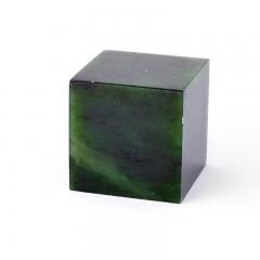 Куб нефрит зеленый Россия 4,5-5 см (1 шт)