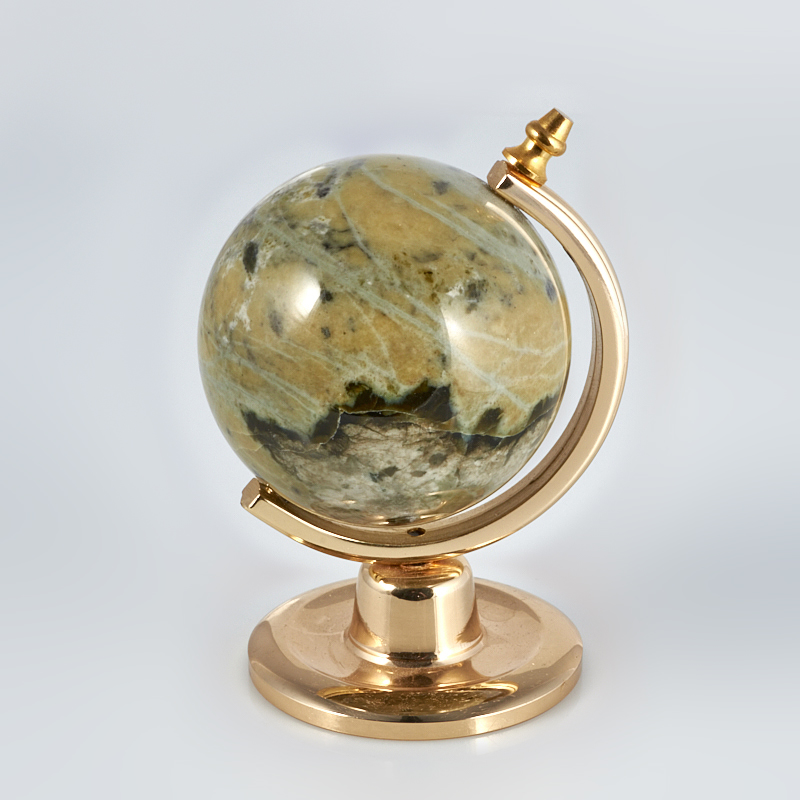 Глобус офиокальцит Россия 5 см