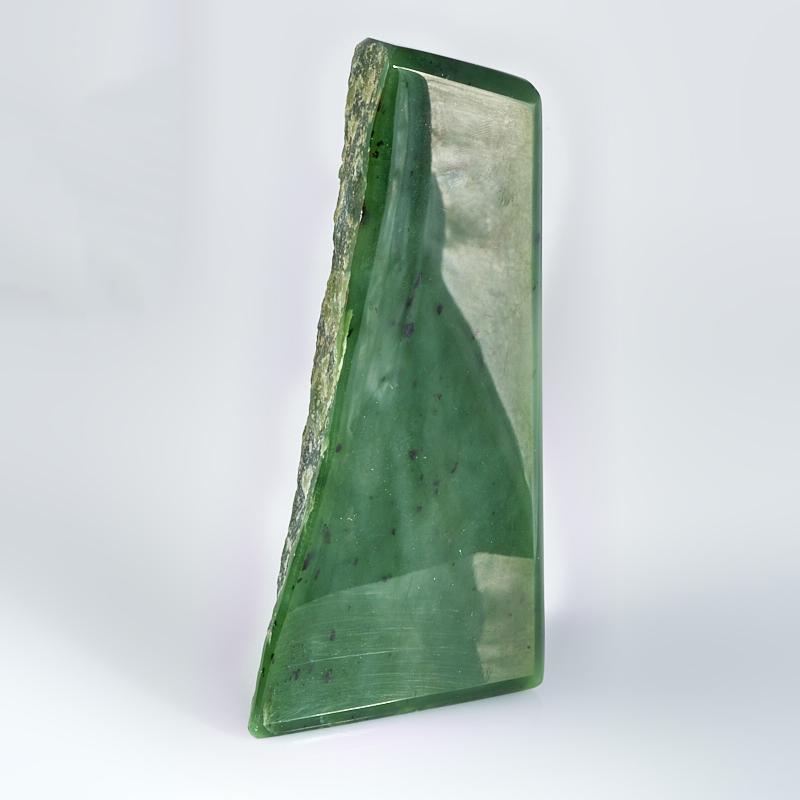 Стела нефрит зеленый  M 3х6х13 см стела лазурит m