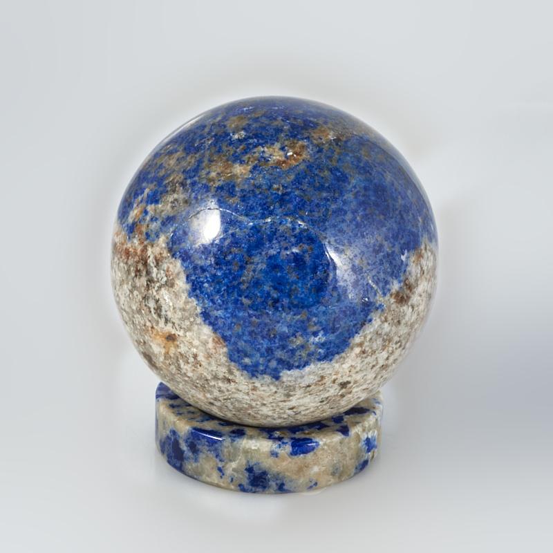 Шар лазурит на подставке 5 см дизайнерский елочный шар на подставке quelle russian elka 1021263