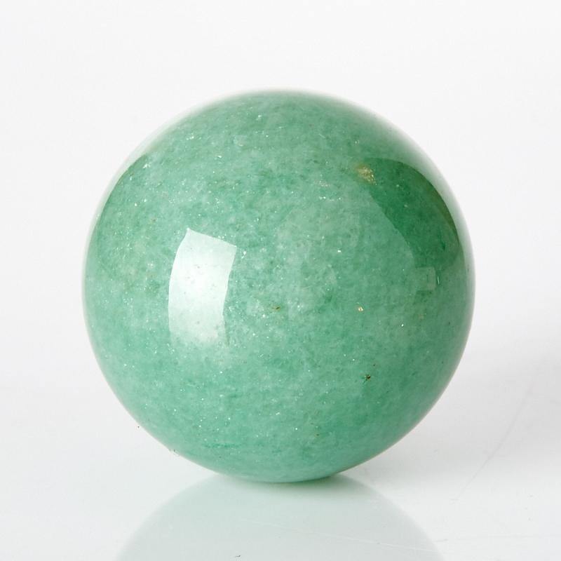 Шар авантюрин зеленый 2,5 см шар пластик 140мм ярко зеленый
