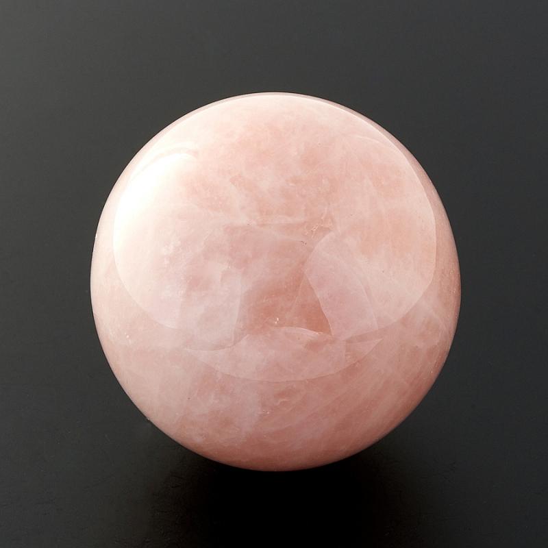 Шар розовый кварц  5 см кулон трикветр розовый кварц 4 5 см