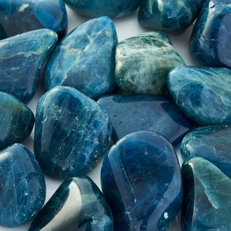 Галтовка Апатит (1-1,5 см) 1 шт бусы апатит голубой 45 см
