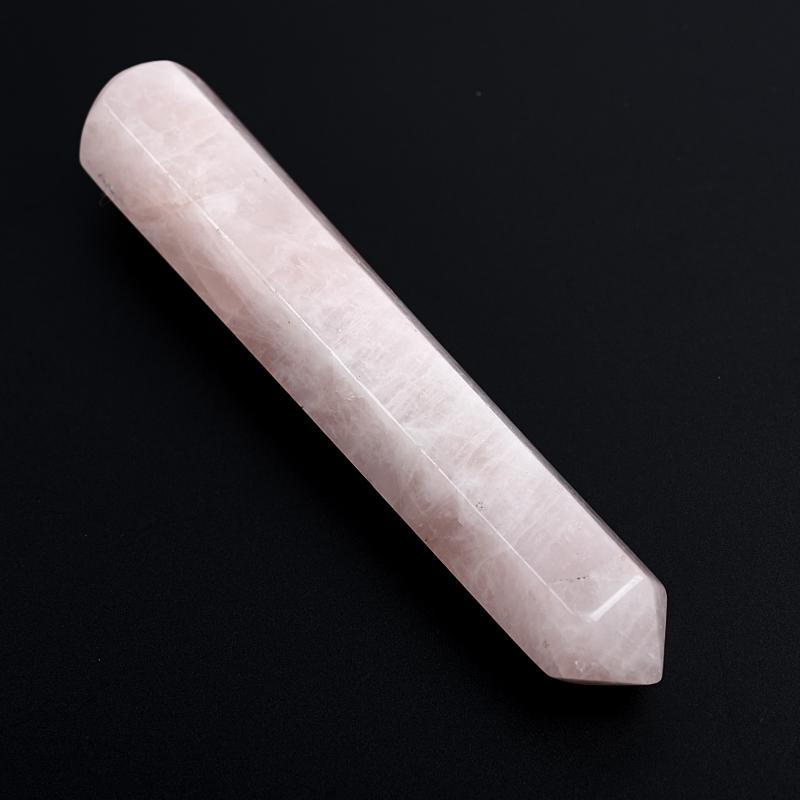 Массажная палочка розовый кварц Намибия 10-12 см