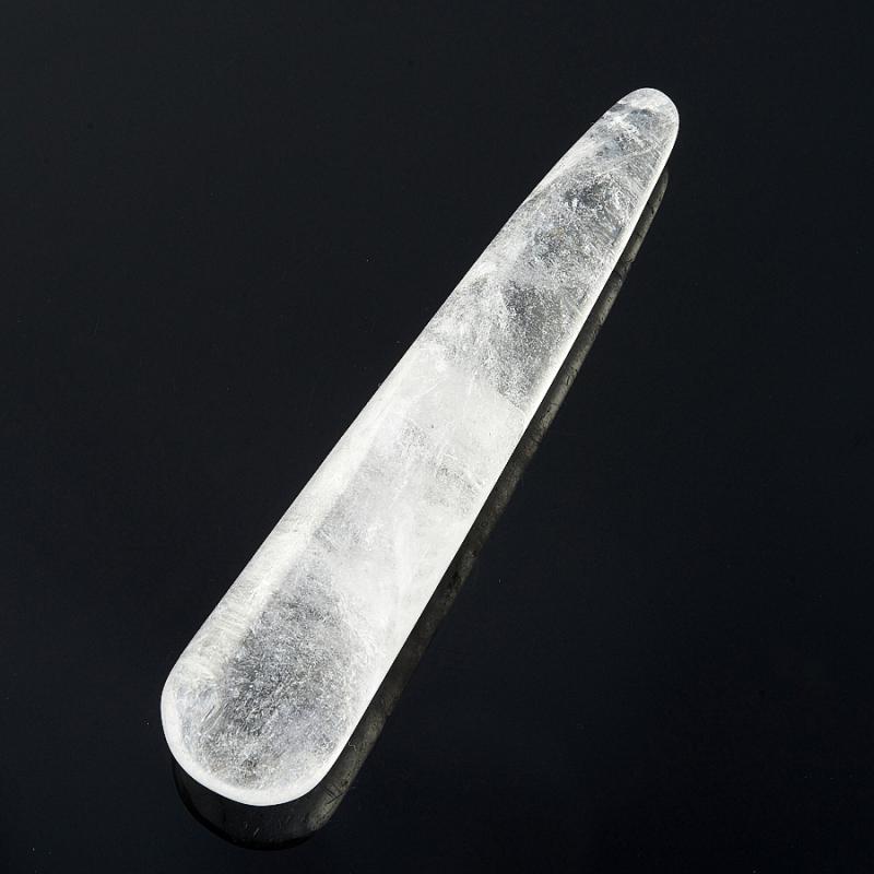 Массажная палочка горный хрусталь  8-10 см массажная палочка шунгит 8 10 см