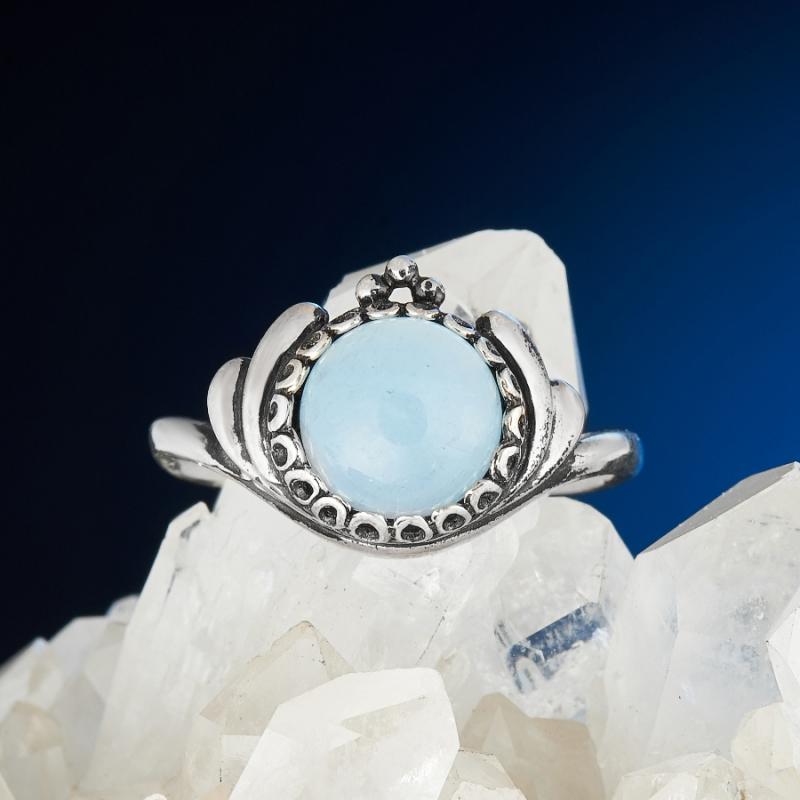 Кольцо аквамарин (серебро 925 пр.) размер 17,5 [супермаркет] jobon jingdong взрывы ключ автомобиля кольцо брелок кольцо кольцо кольцо весной картина носимого zb 052c серебро
