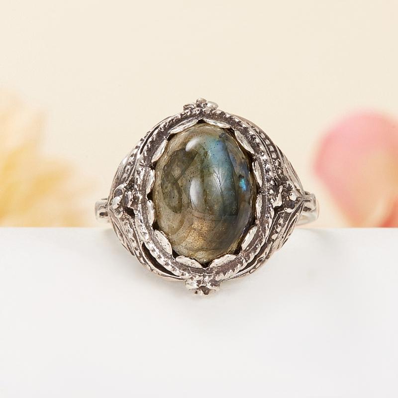 Кольцо лабрадор (серебро 925 пр.) размер 18,5 кольцо yueyin r161 925