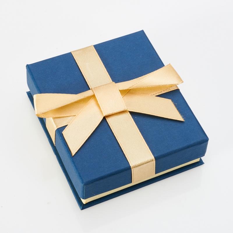 Подарочная упаковка под комплект (серьги, кольцо) 80х70х25 мм