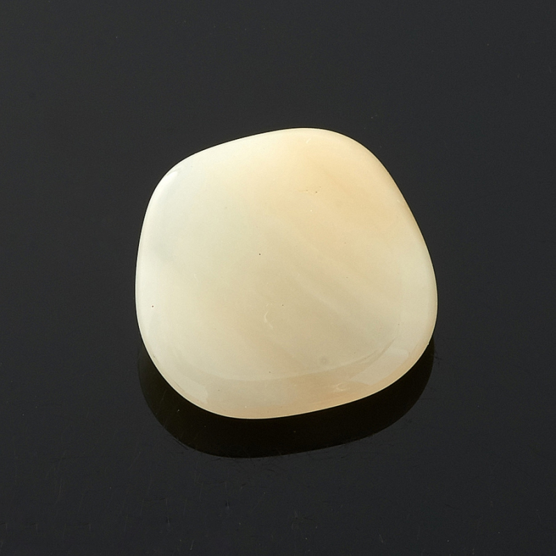 Галтовка Опал желтый Перу (1,5-2 см) 1 шт
