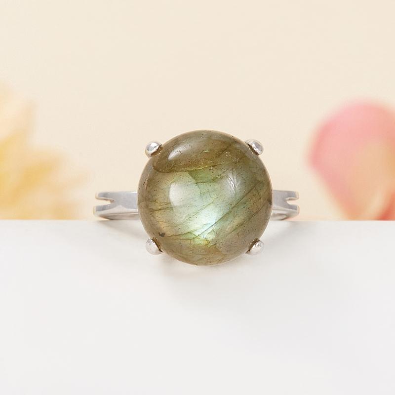 Кольцо лабрадор  (серебро 925 пр.) размер 16