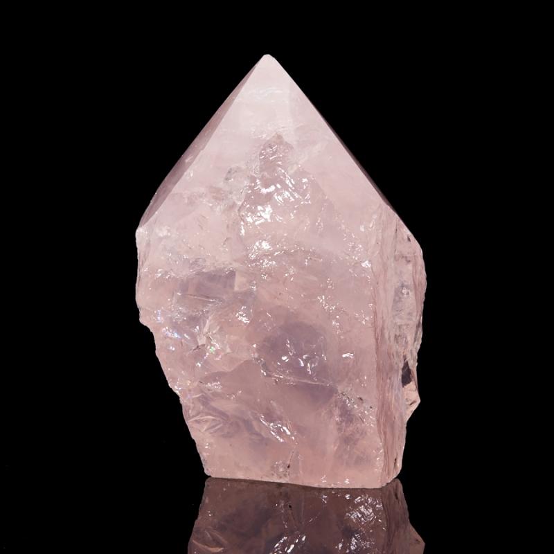 Кристалл розовый кварц  M