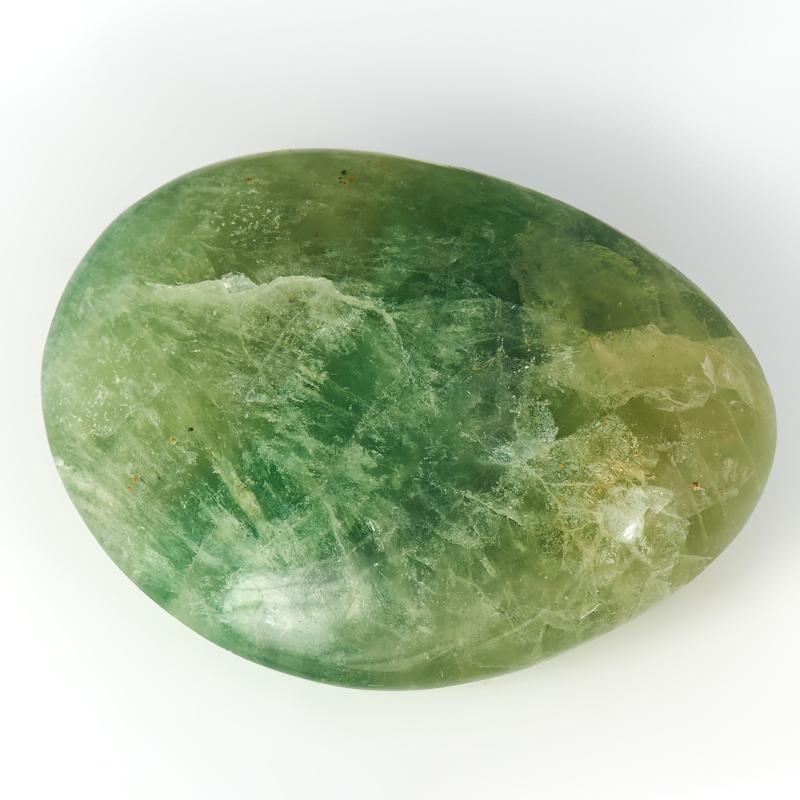 Галтовка Флюорит зеленый Китай S