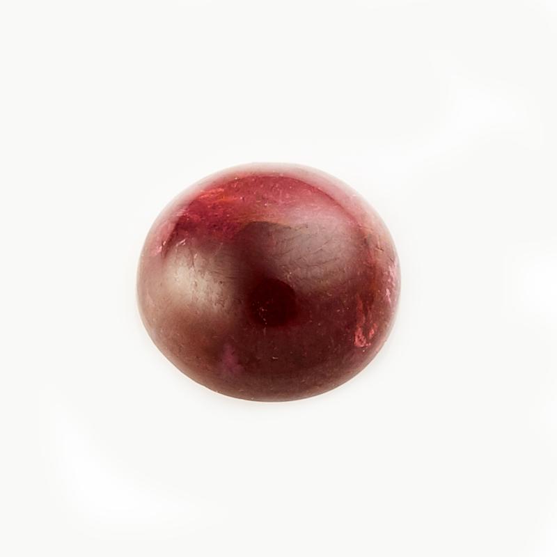 Кабошон турмалин розовый (рубеллит)  8 мм