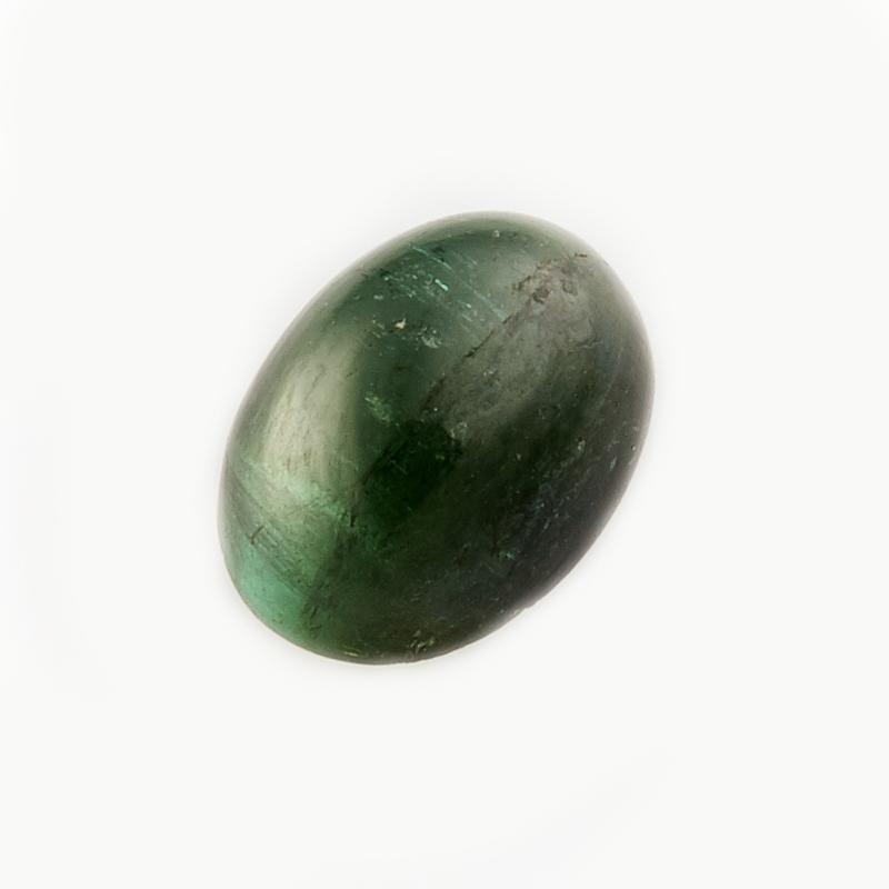 Кабошон турмалин зеленый (верделит)  5*7 мм