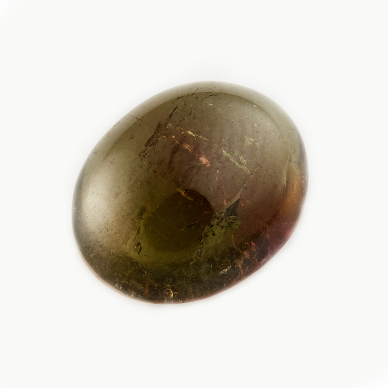 Кабошон турмалин зеленый (верделит)  9*11 мм кабошон турмалин зеленый верделит 9 11 мм