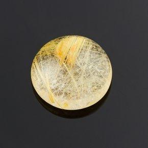 Кабошон рутиловый кварц Бразилия 8 мм