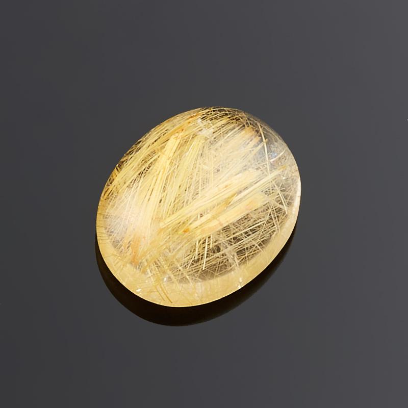 Кабошон рутиловый кварц  8*10 мм