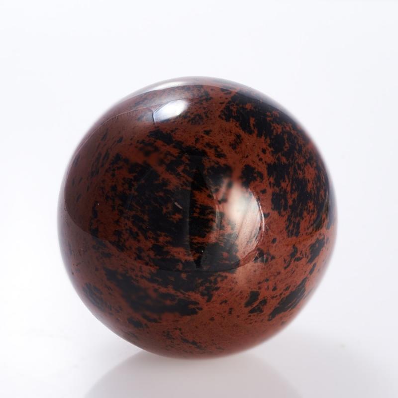 Шар обсидиан коричневый  5 см