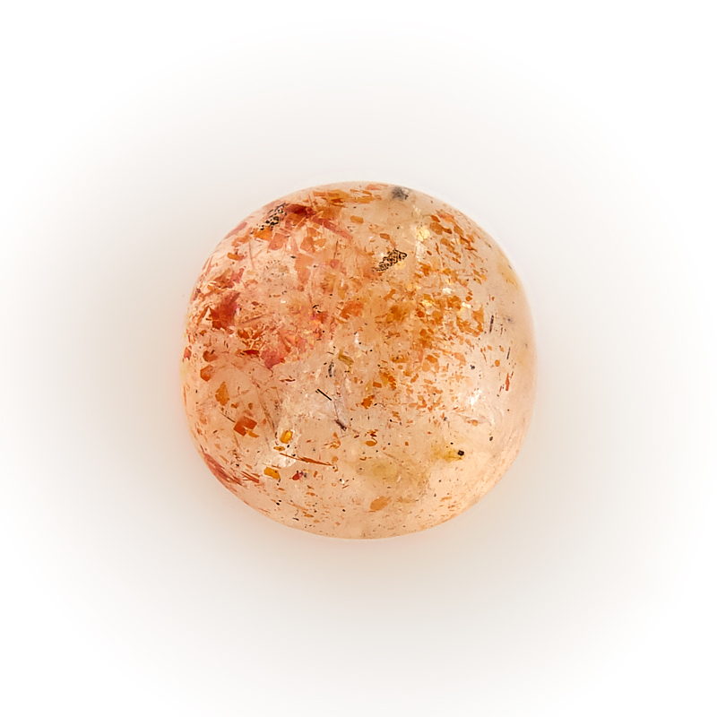 Кабошон солнечный камень  8 мм