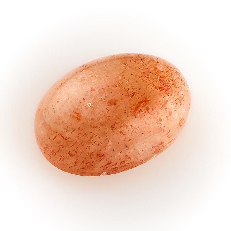 Кабошон солнечный камень  10*14 мм кабошон лазурит 8 мм