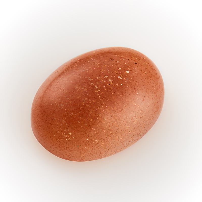 Кабошон солнечный камень  12*16 мм кабошон лазурит 8 мм