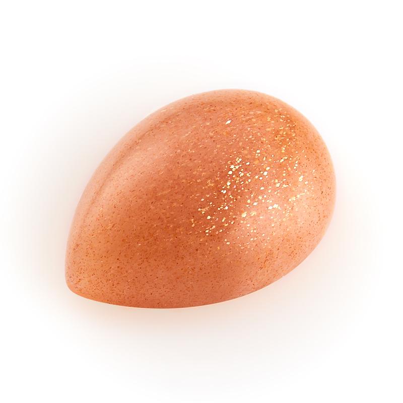Кабошон солнечный камень  13*18 мм