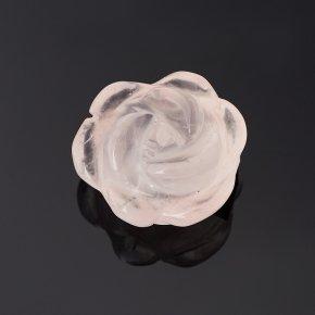 Пуговица роза розовый кварц Намибия 1,5 см