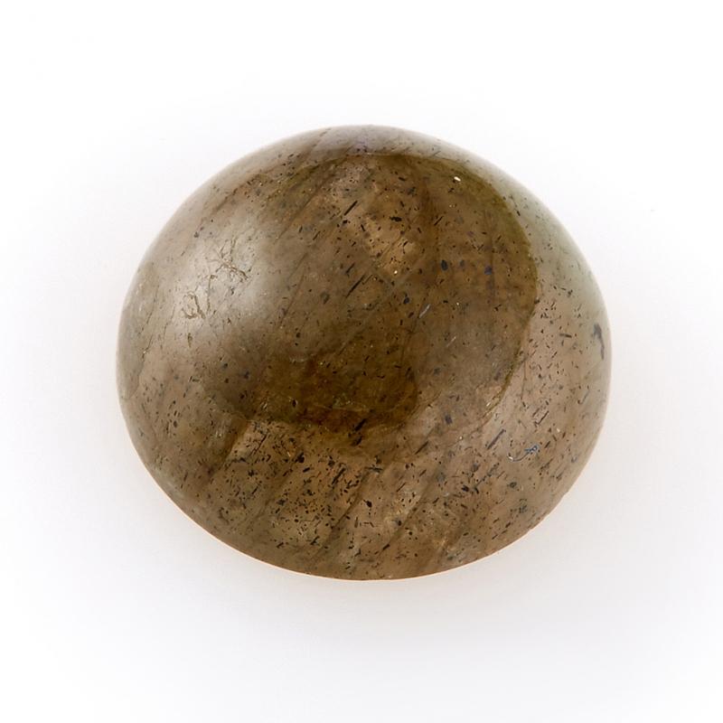 Кабошон лабрадор  10 мм