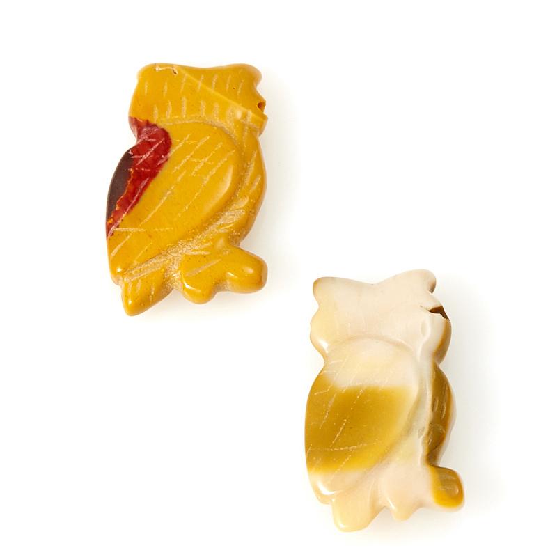 Пуговица яшма мукаит Австралия 2,5-3 см