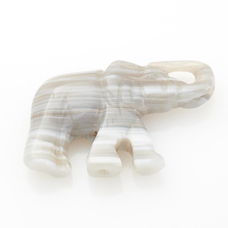 Пуговица агат серый  3,5 см